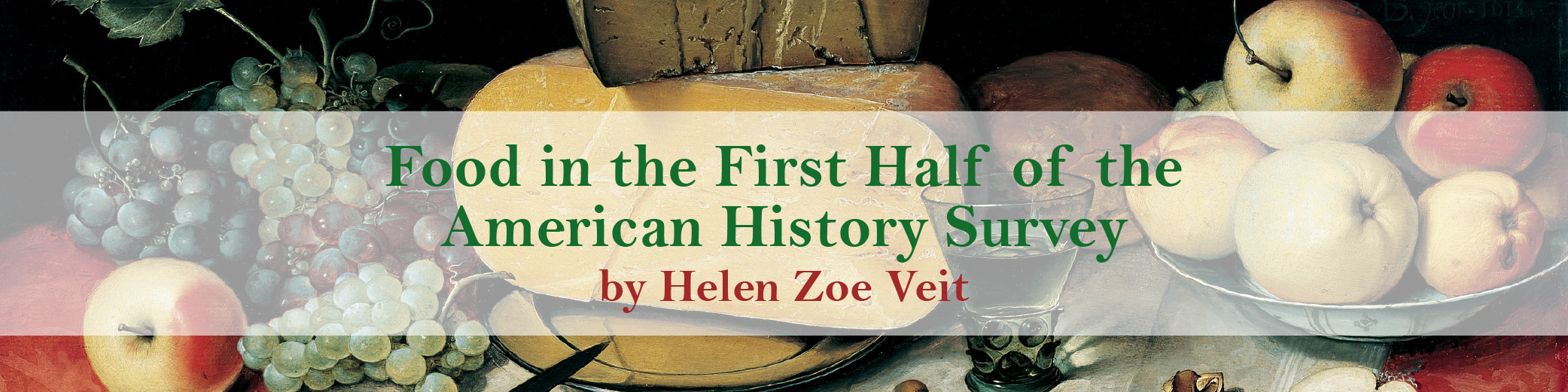 "teaching essay food in the first half of the american history  ""food in the first half of the american history survey"" is the first in a series of commissioned articles for the book channel that aim to help teachers and"