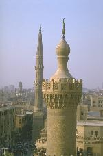 Minaret of al-Azhar Mosque-Seminary