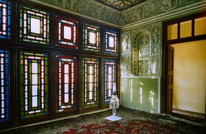 Room of the Bab in the House of the Bab, Shiraz, Iran. circa 1978